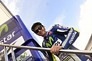 Silverstone MotoGP: Rossi leads warm-up on damp track