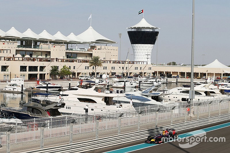 El cierre de la F1 en 2016 sería en diciembre en Abu Dhabi