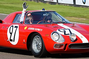 Vintage Breaking news John Surtees on track at the 2015 Goodwood Revival meeting