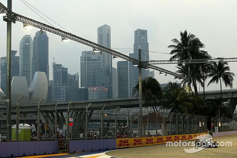 Singapore GP schedule unaltered despite haze threat