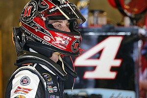 NASCAR Sprint Cup Qualifying report Rain washes out qualifying: Harvick on pole