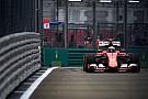 Raikkonen, esperanzado en que Ferrari suba al podio con ambos coches