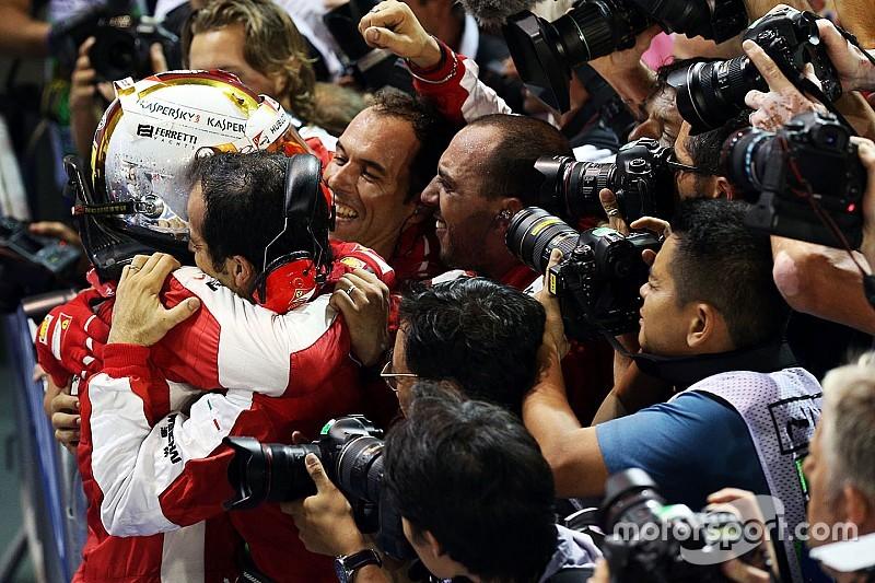 مانسيل: منافسة فيراري على اللقب هو أمر رائع للفورمولا 1