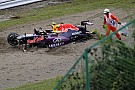 "Kvyat admits to ""rookie mistake"" after crash"