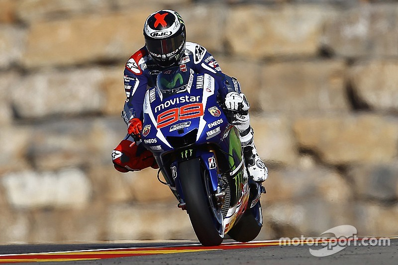 Lorenzo lands Aragón victory as Yamaha locks up Team World Title