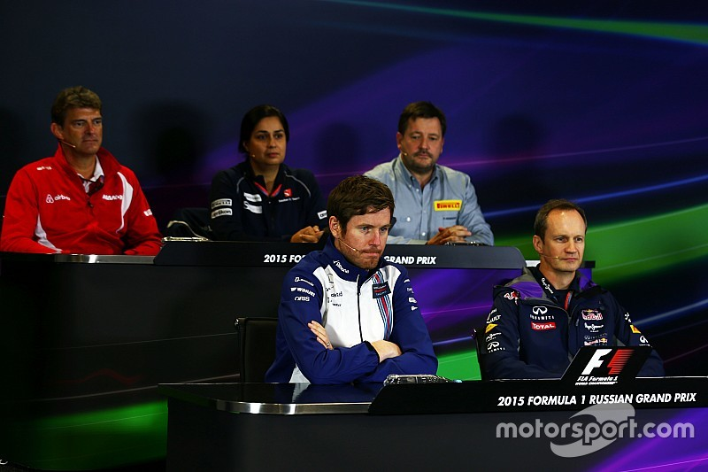 Russian GP: Friday's press conference