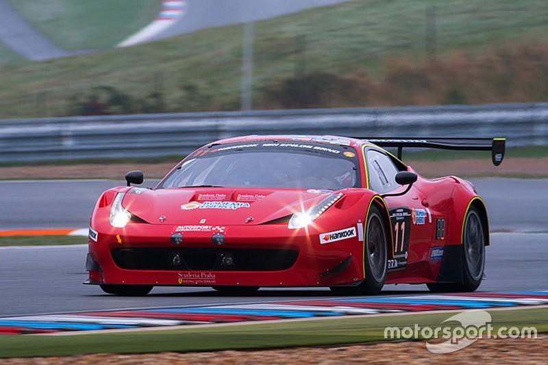 Close battle between Mercedes-Benz and Ferrari in first hours 12H Epilog Brno