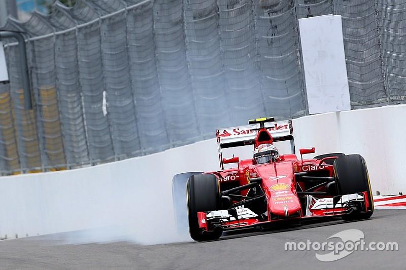 Russian GP: Raikkonen says Ferrari struggled with tyres