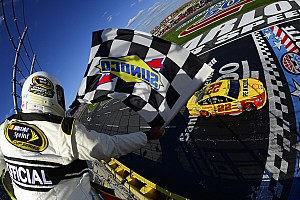NASCAR Sprint Cup Race report Logano earns free pass into Round 3 of Chase with Charlotte win