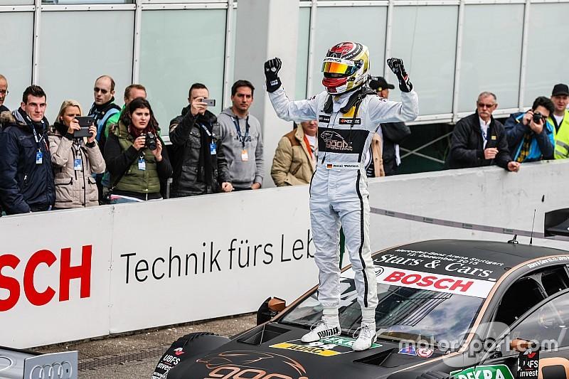 Wehrlein fined after DTM title celebration