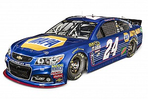 NASCAR Sprint Cup Breaking news 2016 paint scheme unveiled for No. 24