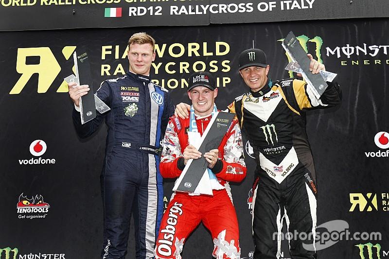 رالي كروس: باكيرود يفوز في إيطاليا بينما