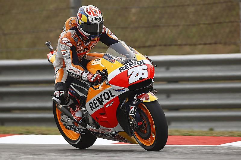 Sepang MotoGP: Pedrosa sets the early pace ahead of Lorenzo