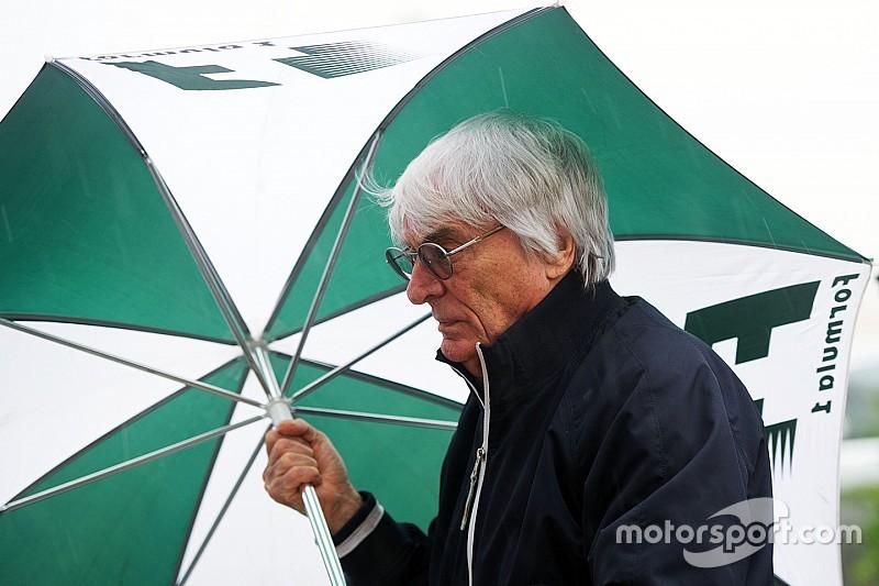 Ecclestone erkent: 'Ik was bang dat we niet konden racen'
