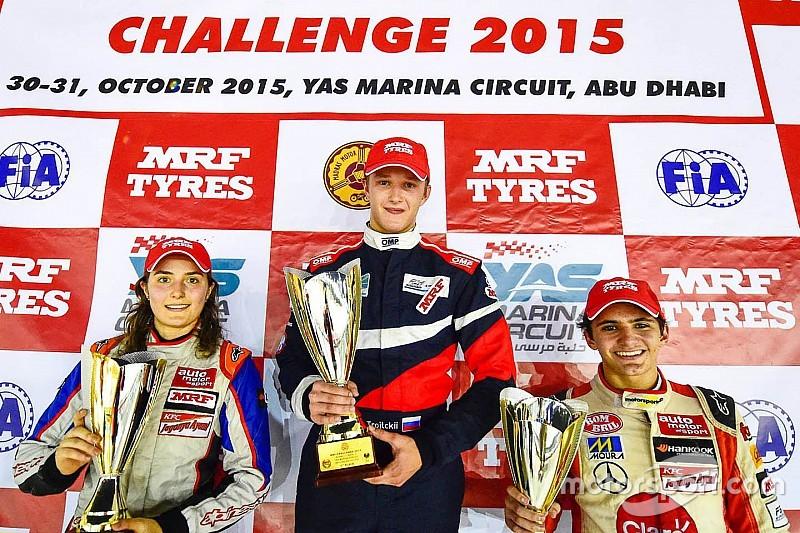 Abu Dhabi MRF Challenge: Troitskiy wins as Reddy and Calderon clash