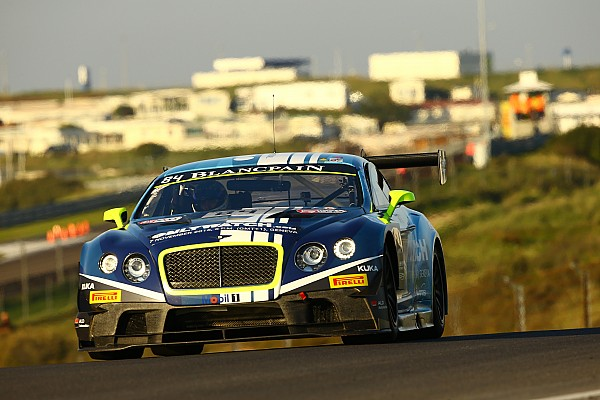 Blancpain Sprint Breaking news Abril replaces Meyrick at Bentley