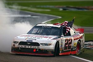 NASCAR XFINITY Race report Brad Keselowski wins Texas Xfinity race