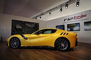 Автомобили Новость Ferrari представила суперкар F12tdf в Муджелло