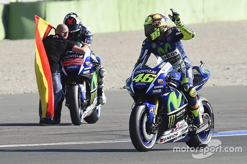 Yamaha dice que el 'muro' Rossi/Lorenzo regresó y difícilmente será derribado.