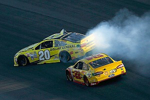 NASCAR Sprint Cup Breaking news Joe Gibbs and Roger Penske clear the air over Kenseth/Logano feud