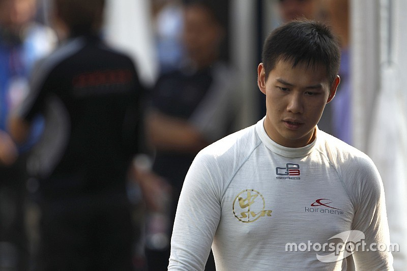 Fong replaces Mardenborough at Carlin for Abu Dhabi finale
