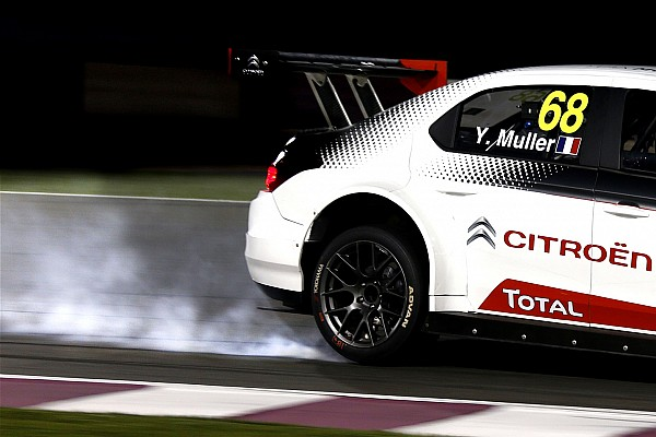 WTCC Qatar WTCC: Muller wins final race after Filippi collision