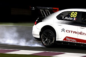 WTCC Race report Qatar WTCC: Muller wins final race after Filippi collision
