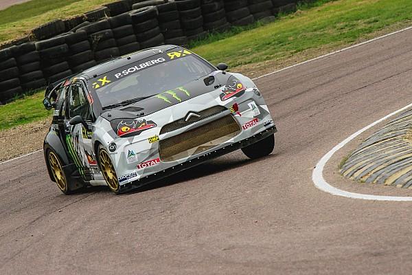 World Rallycross Breaking news Solberg wins back-to-back WRX titles