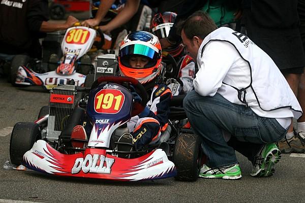 Kart Últimas notícias Pela primeira vez, Barrichello participa de prova com filho