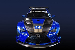 IMSA Interview Pruett aims for podium in Lexus RC F's development season