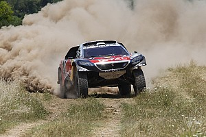 Dakar Stage report Dakar Cars, Stage 2: Loeb takes shock win, problems for Sainz