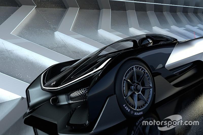 Faraday Future trekt het doek van elektrische racewagen met 1.000 pk