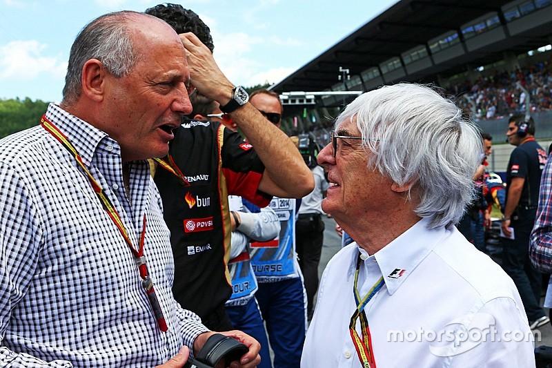 F1 moet buiten de sport kijken voor opvolger Ecclestone - Dennis