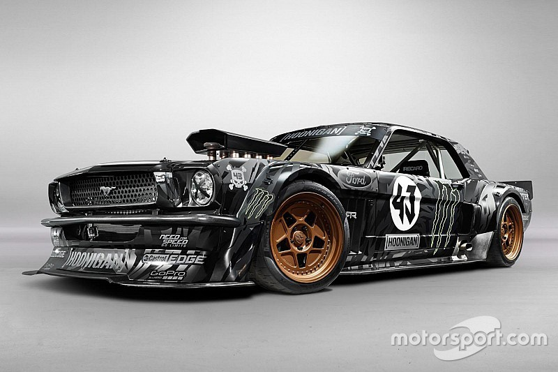 la mustang de ken block trop ch re pour lewis hamilton. Black Bedroom Furniture Sets. Home Design Ideas