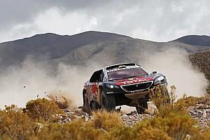 Dakar Prüfungsbericht Rallye Dakar: Sebastien Loeb mit Reifenschäden, die Führung ist futsch