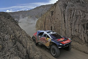 Dakar Stage report Dakar Cars, Stage 7: Sainz sets pace, Loeb reclaims lead