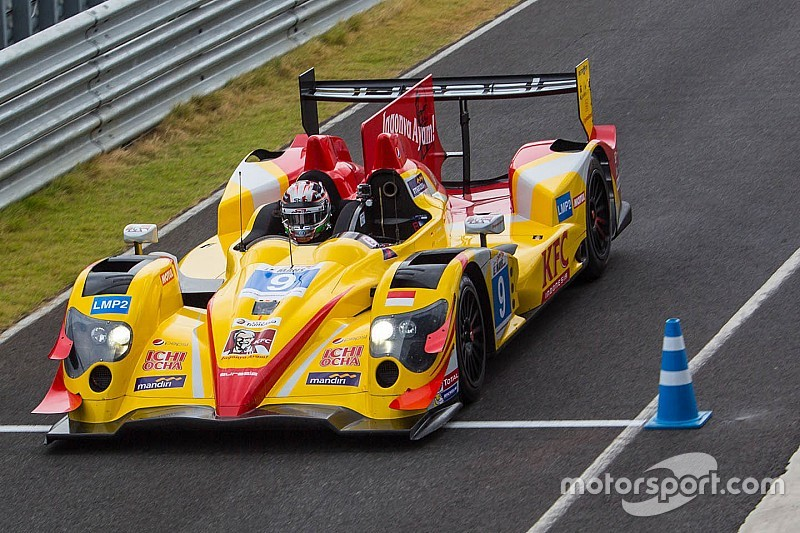 Giovinazzi and Gelael win on sportscar debut