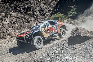 Dakar Interview Despres sacrifices sixth to come to Loeb's rescue