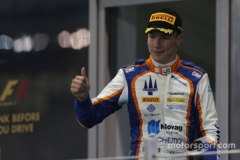 Marciello joins Russian Time for third GP2 season
