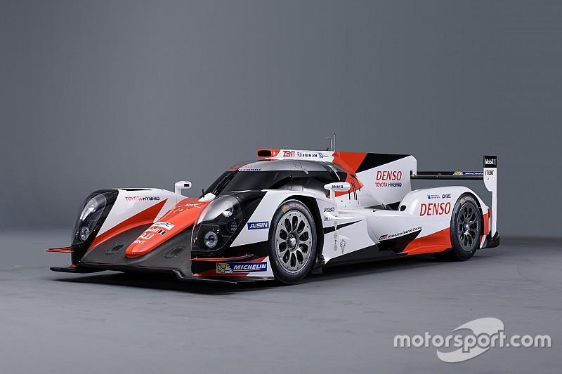 Toyota LMP1-Auto in der WEC-Saison 2016 im neuen Gewand