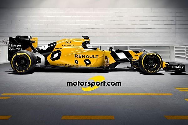 Fórmula 1 Top List Como será o verdadeiro desenho do novo carro da Renault?