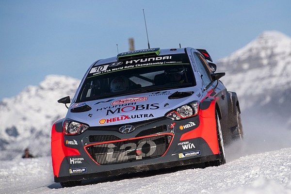 WRC Paddon positive for new Hyundai debut on fast Swedish snow