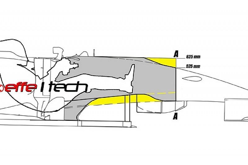 Горбинка на болиде Force India