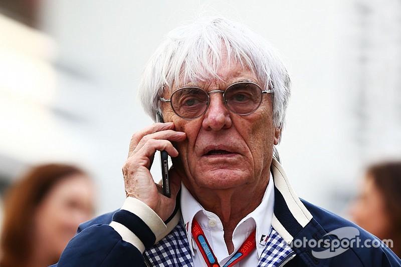 埃克莱斯顿:F1应该保持开篷式