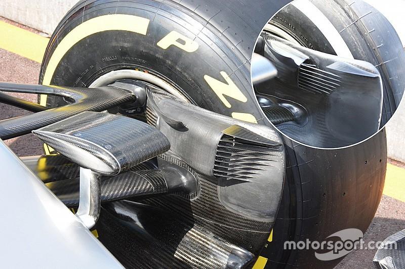 Технічний брифінг: Повітровод передніх гальм Mercedes W07