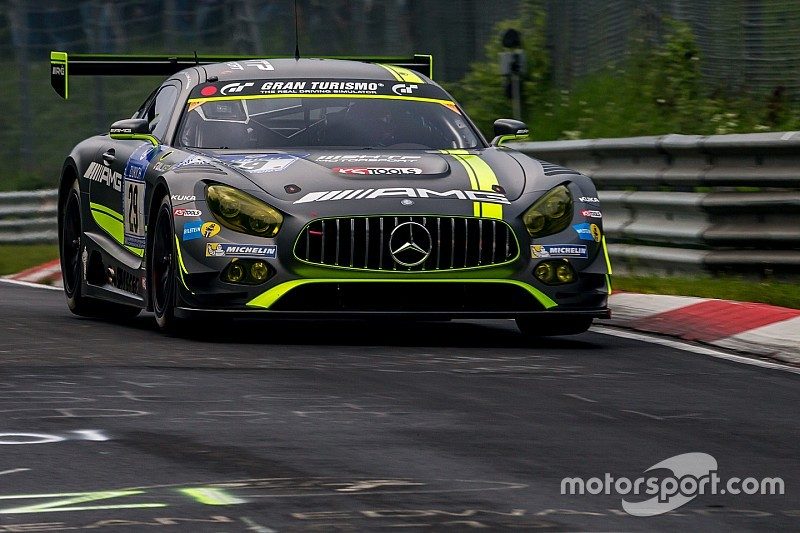 ニュル24時間はあと2時間。メルセデスAMG GT3の4台による優勝争い   Endurance ニュース ...