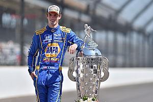 IndyCar Son dakika Indy 500'ü kazanan Rossi 2.5 milyon doların sahibi oldu