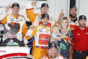 NASCAR XFINITY Reporte de la carrera Kyle Larson gana en Pocono la carrera acortada por lluvia