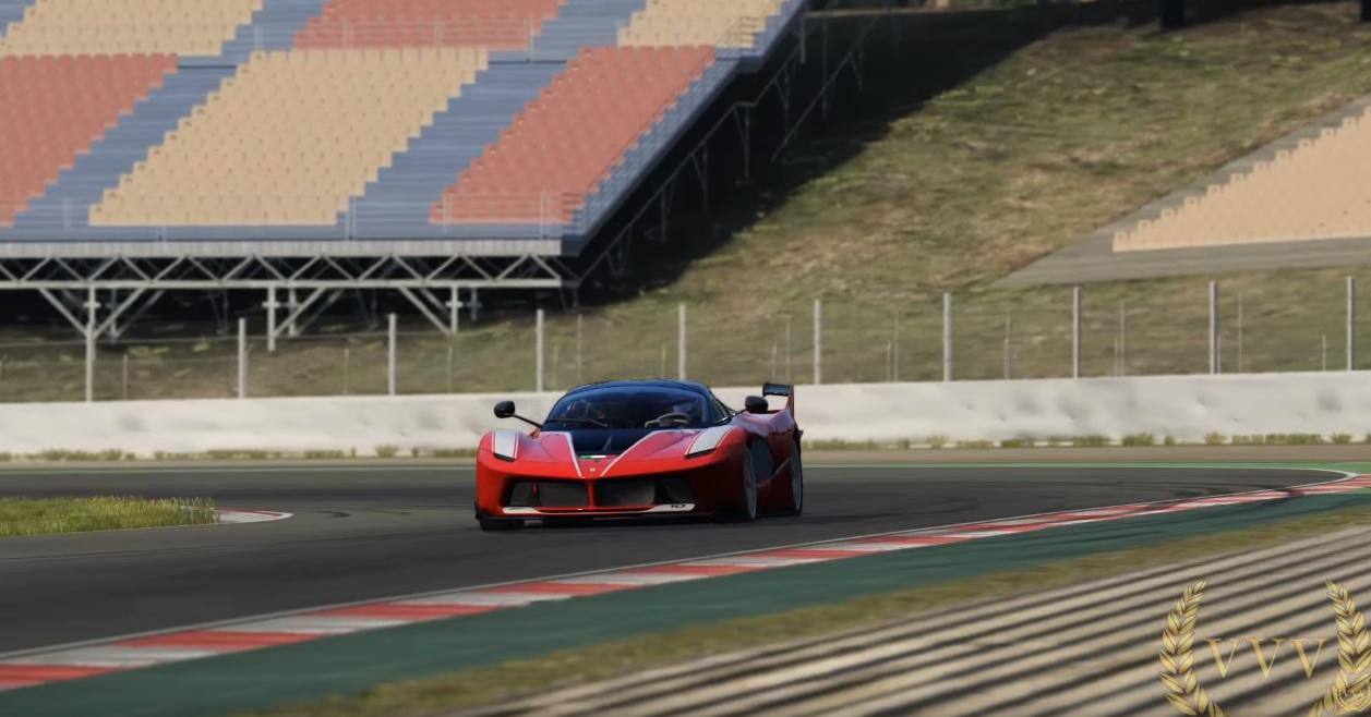 A virtuális Ferrari FXXK: több mint élethetű