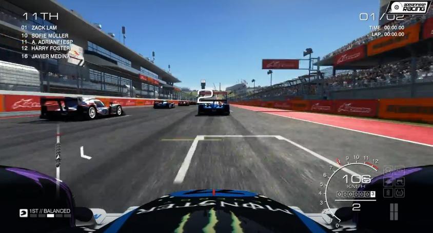 GRID Autosport: Önfeledt csapatás az amerikai F1-es versenypályán